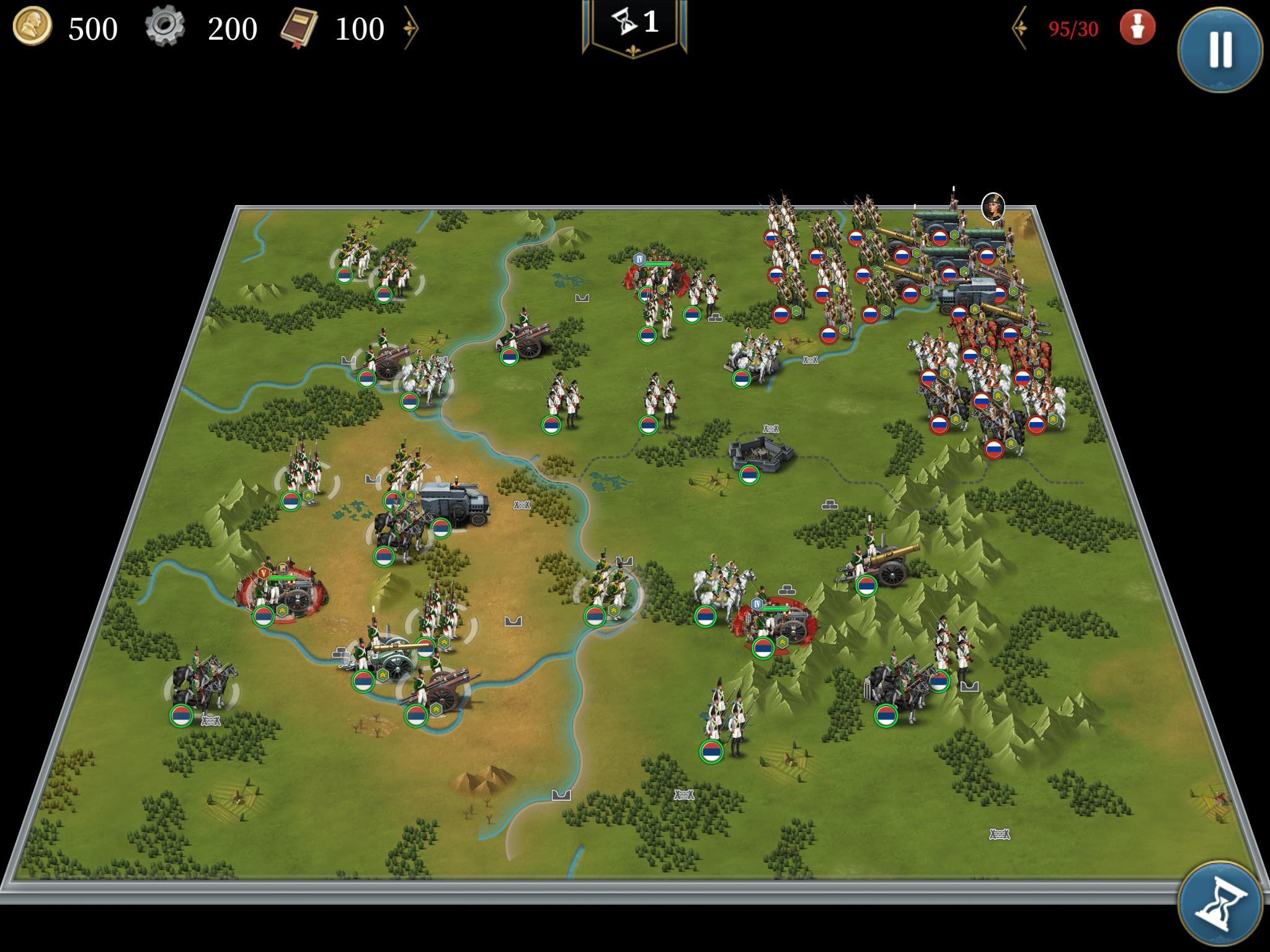 ドナウ公国への進軍