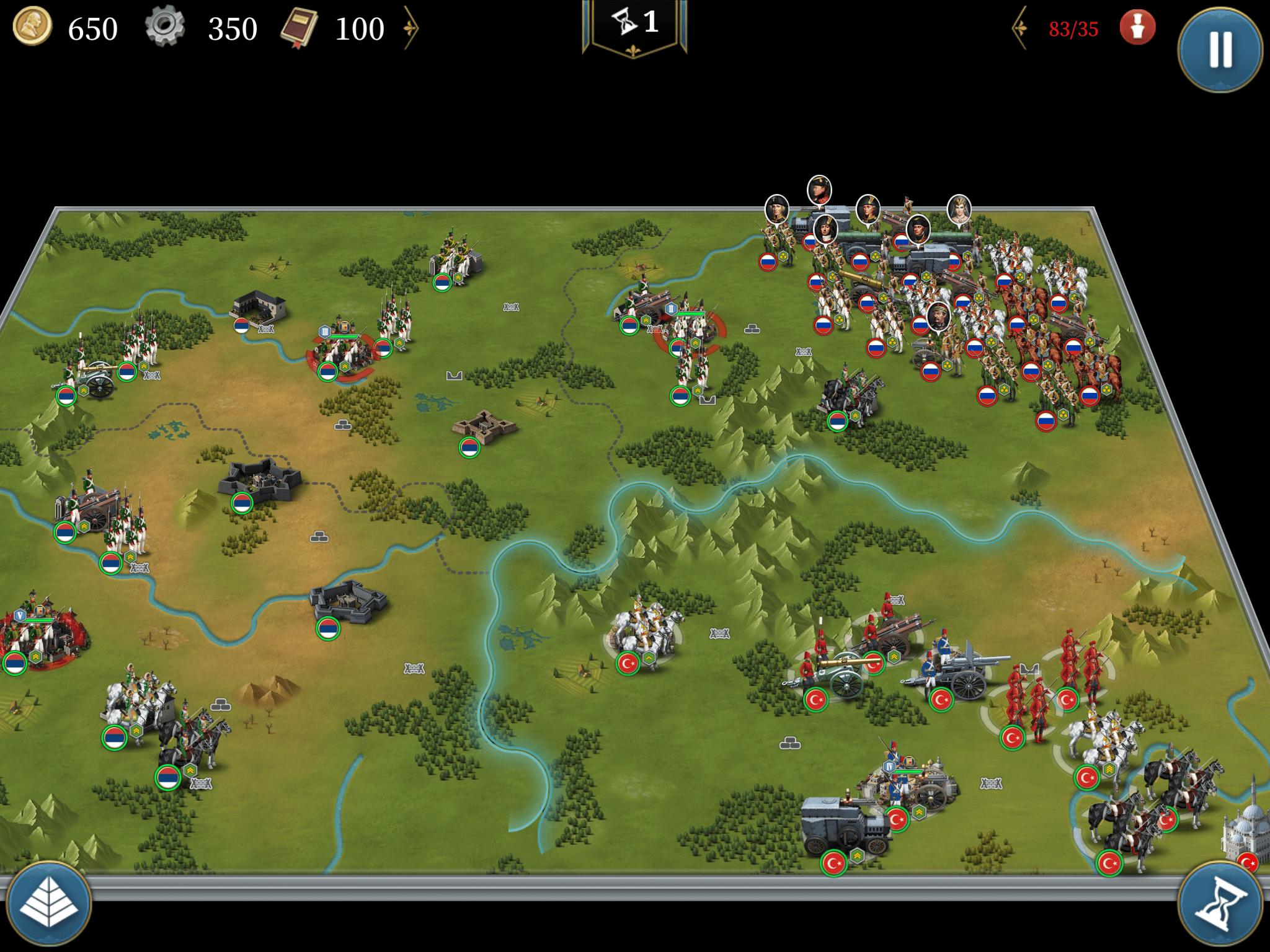 要塞攻防戦