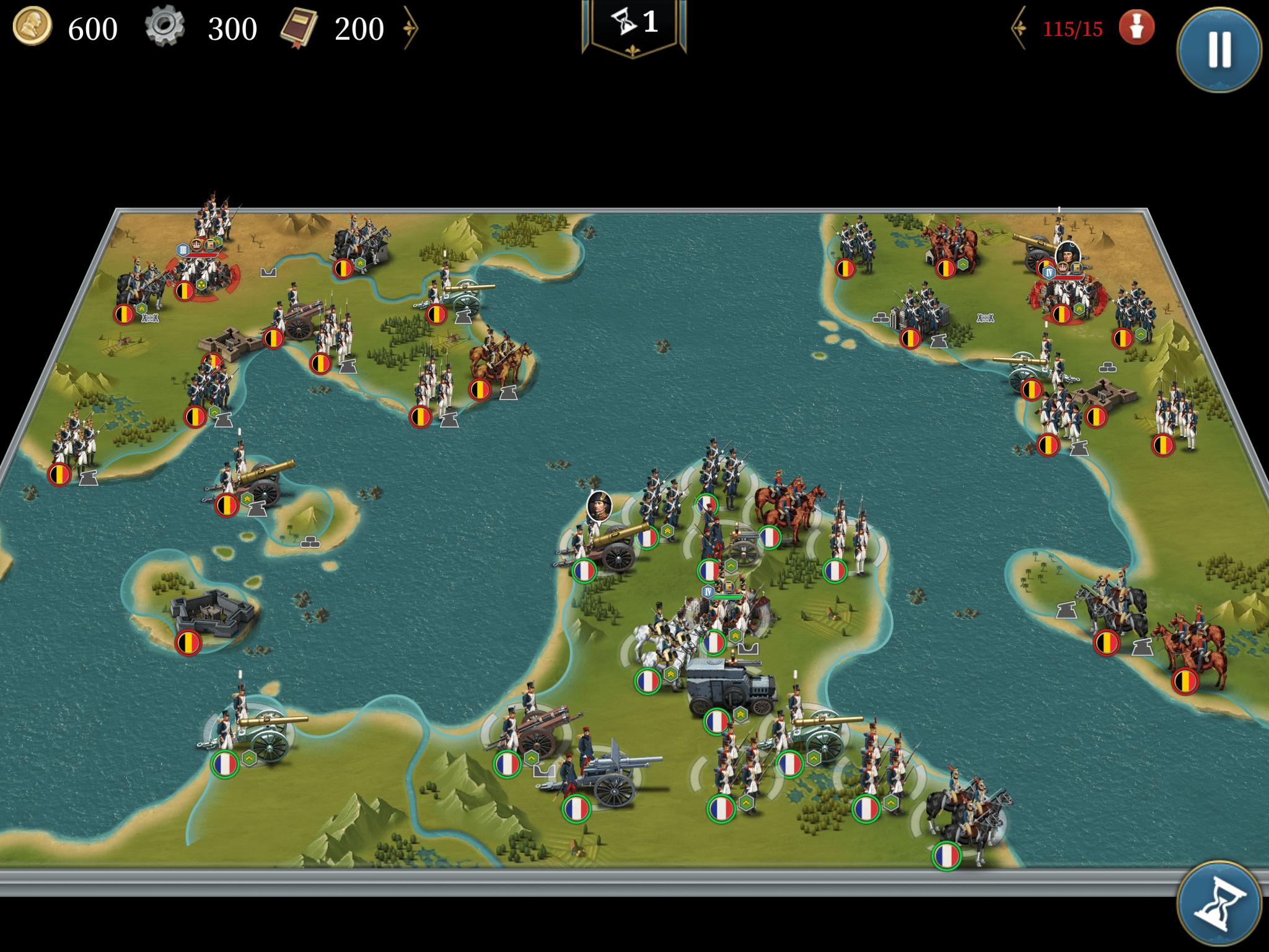 ベルギーへの侵攻